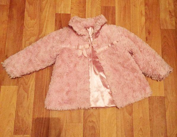 Куртка-шуба р.86-92 Идеальное состояние