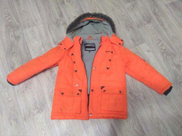 Продам зимние комбинезон и куртку фирмы Gusti на мальчика