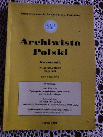 Kwartalnik Archiwista Polski. Nr 2/2002.