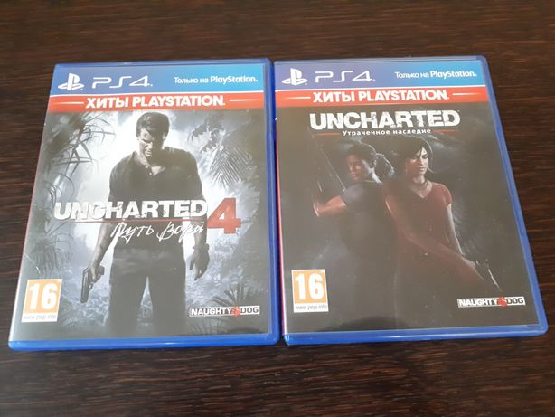 Uncharted 4  и Uncharted The Lost Legasy