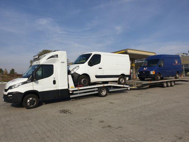 AUTO-EXPERT Transport Aut Samochodów z Niemiec Belgii holandi LAWETA