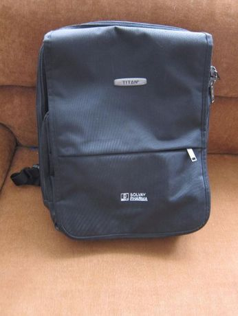 Plecak na tablet, ebook, laptop, gry, aparaty- firmowy Titan