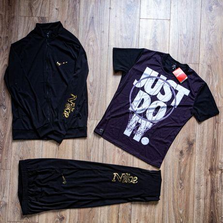 Спортивный костюм мужской Футболка шорты Кофта на молнии штаны спорт