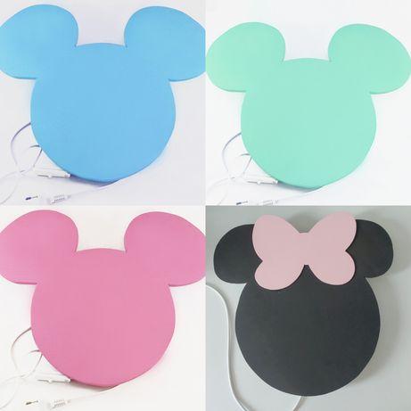 Lampka ścienna Myszka Minnie/Miki