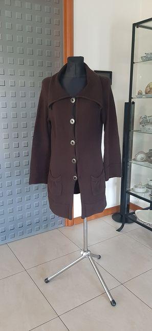Sweter długi kardigan Marks&Spencer 12