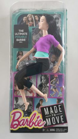 Barbie Made to Move, fioletowy top DHL84