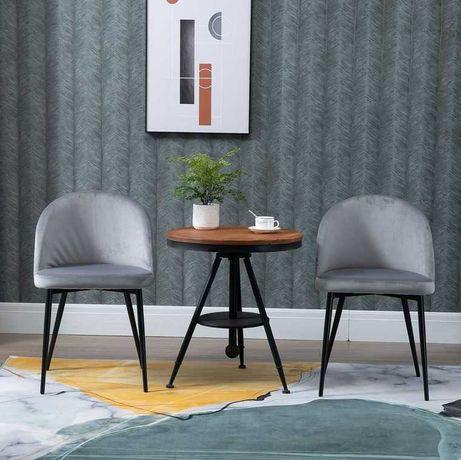 Conjunto de 2 Cadeiras de Jantar Modernas