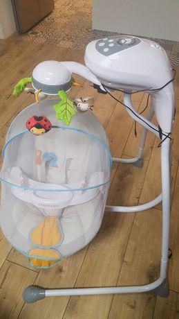 Bujaczek leżaczek huśtawka elektryczna Caretero buggies
