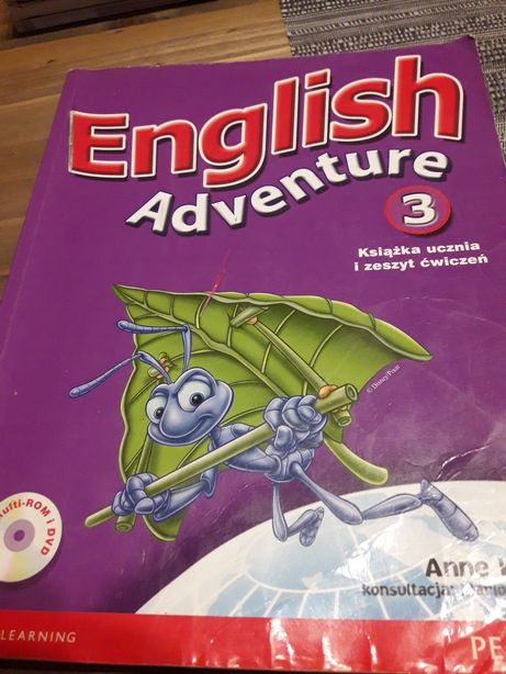 English adventure 3. Cena 9 zł.