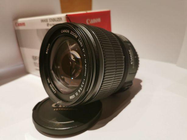 Canon EF-S 15-85mm IS + PARASOL EW-78E