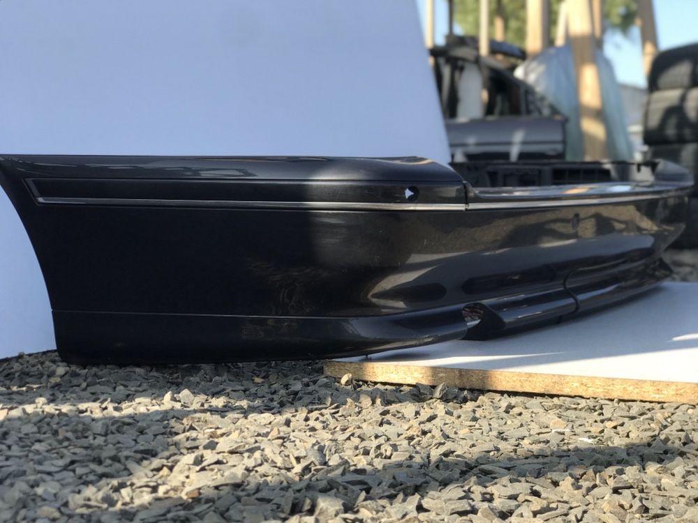 Задний Бампер БМВ Е39 Универсал Индивидуал Хром bmw E39 Черный 475