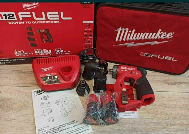 Milwaukee 2505 M12 с четырьмя насадками DeWalt Bosch Makita RIDGID