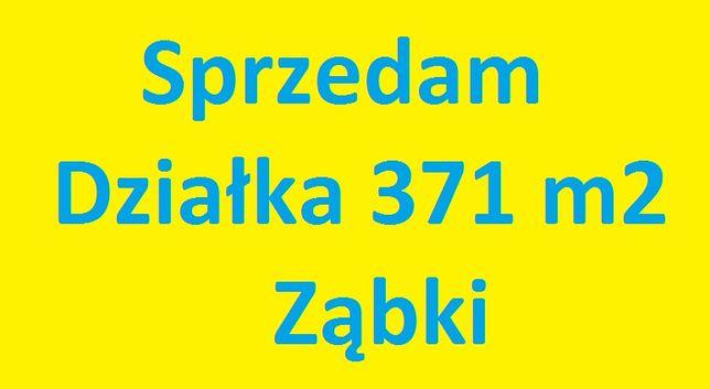 Sprzedam działkę budowalną 371m2 w Ząbkach 2 linia zabudowy.