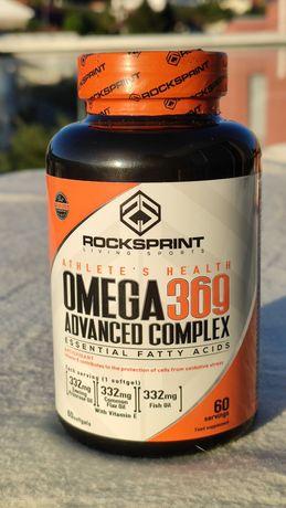 Omega 369 Advanced Complex ROCKSPRINT 60 Comprimidos NOVO e SELADO