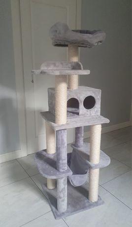 Drapak dla kota La Digue III szary