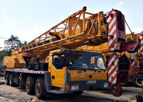 Продам автокран LT1055, грузоподъемность 55 тонн, стрела 41м конс 15 м Киев - изображение 1