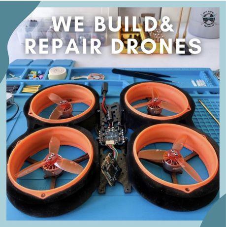 Construimos e reparamos drones FPV