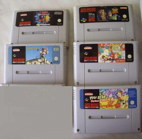 SNES Super Nintendo gry super stan !