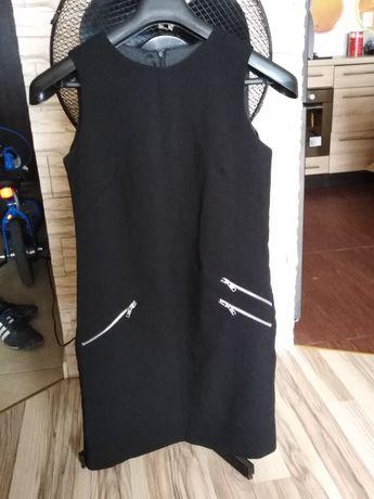 Sukienka na podszewce czarna