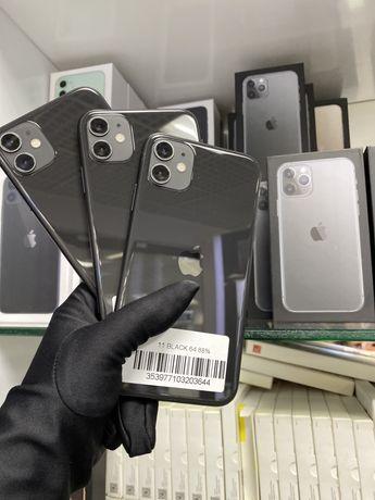 iPhone 11 64 Gb.Black недорогие Варианты по 13960грн. Магазин,Гарантия