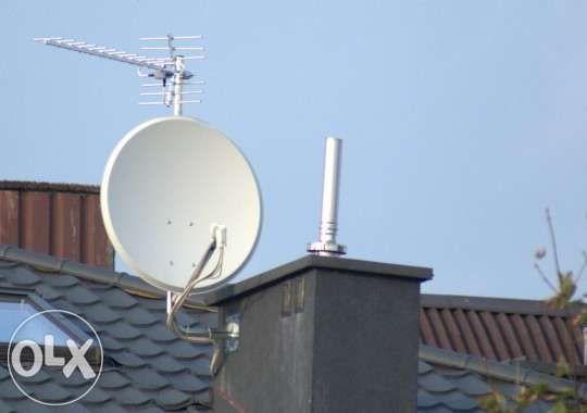 Montaż i serwis anten satelitarnych. Będzin i okolice.