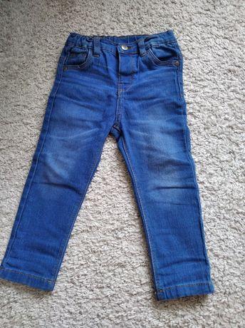 Jeansy 92 cm dla chłopca