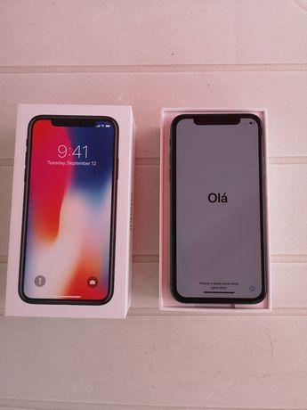 Vendo iPhone X 64Gb Preto - c/Novo na caixa e fatura!