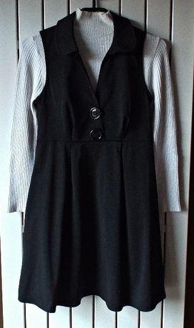 RIVER ISLAND sukienka + półgolf