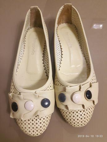 Балетки туфли женские кожа Турция 40р