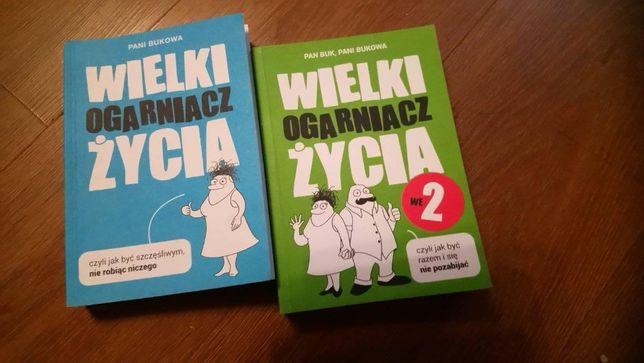 Książki Ogarniacz życia dwa tomy