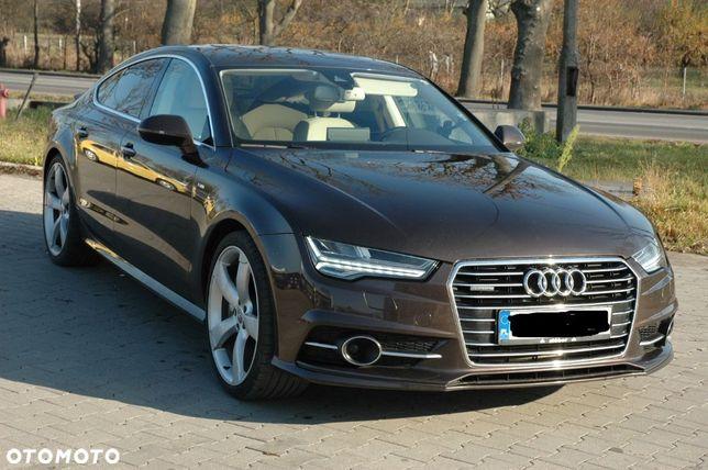 Audi A7 Audi A7 3.0 BiTurbo 320 KM 3 X Sline Matrix,Komforty ZAMIANA NA KAMPER