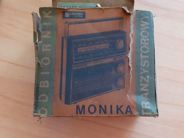 16zl Dokumentacja techniczna do odbiornika tranzystorowego Monika