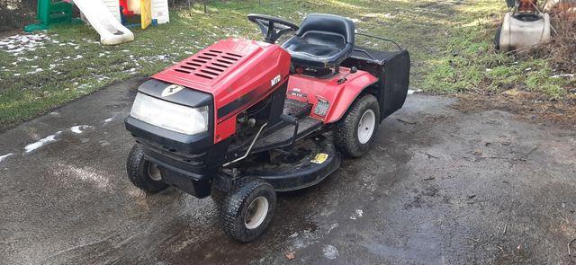 Traktorek MTD z koszem