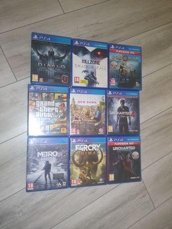 Gry PS4 Zamiana