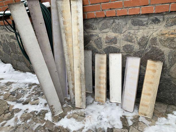 Отливы металические советского производства в идеальном состоянии