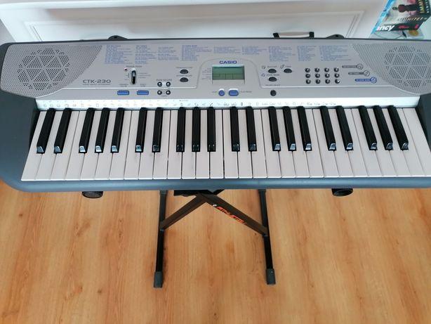 Casio CTK- 230. Song bank keyboard