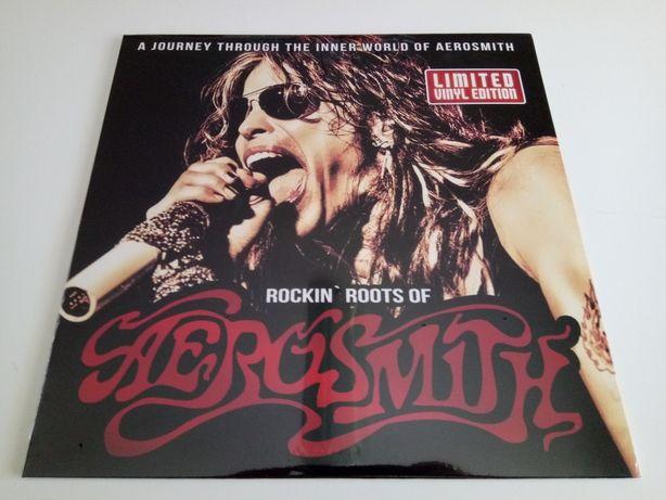 Disco Vinil LP(Red) Aerosmith – Rockin' Roots Of Aerosmith Novo Selad