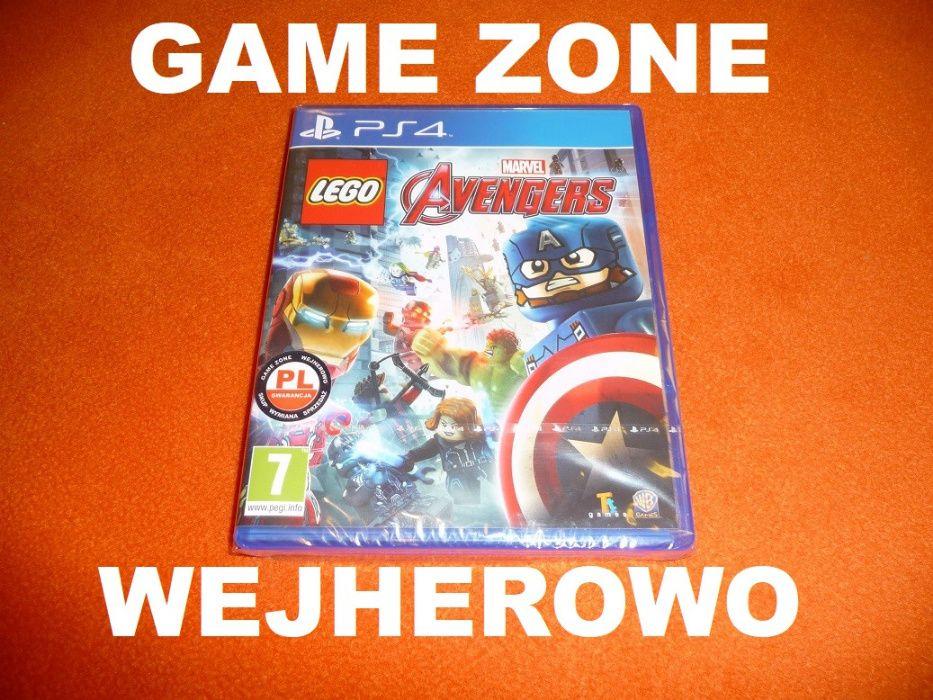 LEGO Marvel Avengers PS4 + Slim + Pro = PŁYTA PL Wejherowo = FOLIA Wejherowo - image 1