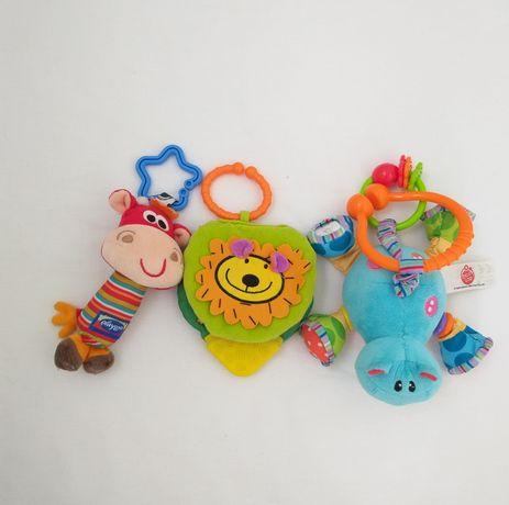 Игрушки подвески книжка Playgro Canpol Biba toys