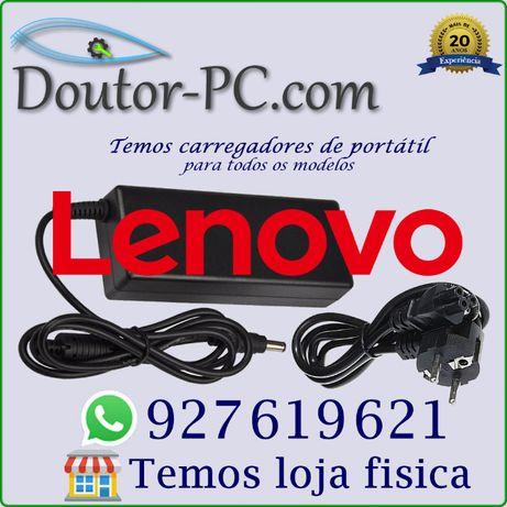 Carregador adaptador Portátil Lenovo Cabo bateria Transformador 65 90W