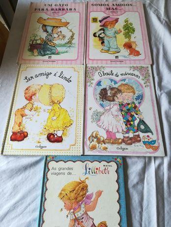 Livros infantis década de 80