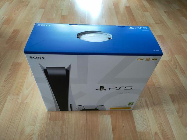 Konsola Sony PlayStation 5 nowa, plomba.