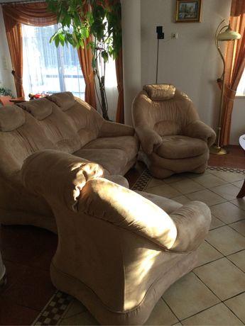 Zestaw wypoczynkowy, kanapa , fotel