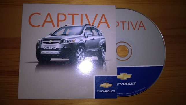 CD Rom - Chevrolet Captiva