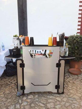 Bar Portátil Barmen/Bartender Eventos