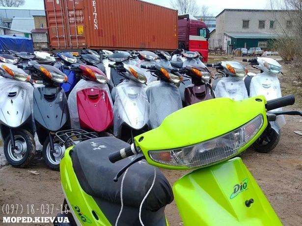Honda dio 99 gray скутер с контейнера БЕЗПРОБЕГА мопед с Японии купить