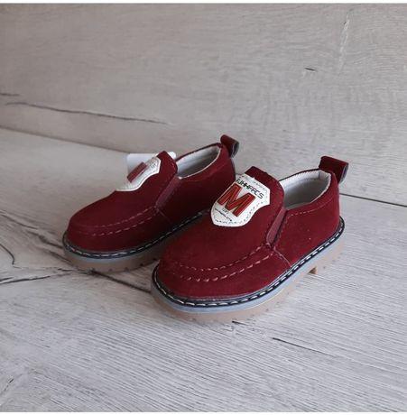 Туфельки для хлопчика, дитяче взуття