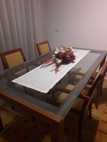 Mesa + cadeiras Sala Jantar