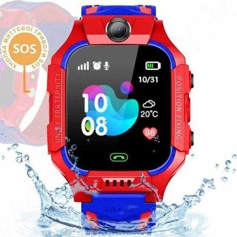 Акция Ребенку smart часы с сим картой трекер c влагозищитой