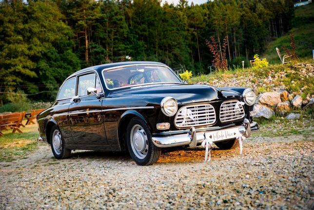 Samochód do ślubu - przepiękne czarne Volvo Amazon / Wolne terminy